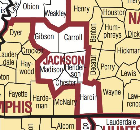 Jackson TN DMA