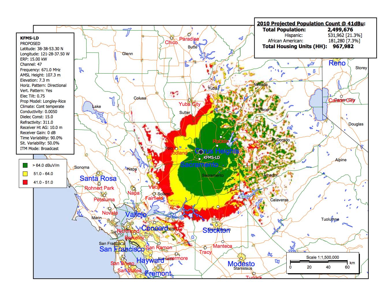 Sacramento Stockton Modesto Coverage Maps Dtv America